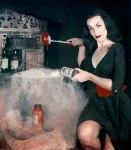 Horror Hostess Vampira aka Maila Nurmi