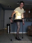Josh Sundquist Paralympian hilarious Christmas Story Lamp Halloween Costume