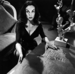 Maila Nurmi as Vampira, Legendary Horror Hostess