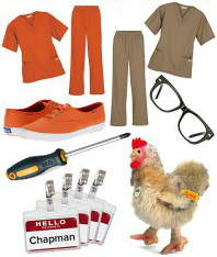 Halloween DIY Costume Orange is the New Black