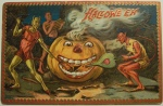 Vintage Halloween Postcard Turn of the Century (6)
