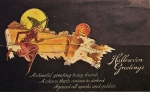 Vintage Halloween Postcard Turn of the Century (7)