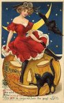 Vintage Halloween Postcard Turn of the Century (8)