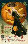 Vintage Halloween Postcard Turn of the Century (9)