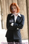 X-Files Agent Dana Scully cosplayed by Adella