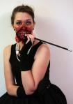 Zombie Audrey Heburn Cosplay by freakmos via Geek Tyrant