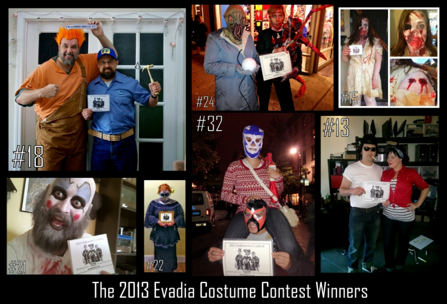 2013 Costume Contest Winners