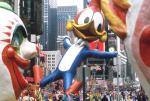 Creepy Clowns in 1995 Macy's Thanksgiving Day Parade via NYDailyNews