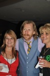 Lew Temple posing with fans