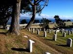 Ft. Rosecrans National Cemetery Graveyard Military San Diego Bay Photograph Eva Halloween