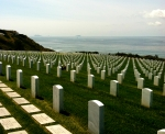 Ft. Rosecrans National Cemetery Graveyard Military Photograph Islas Coronados Mexico Pacific Coronado Islands