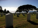 Ft. Rosecrans National Cemetery Graveyard Military Pacific Ocean Photograph Eva Halloween