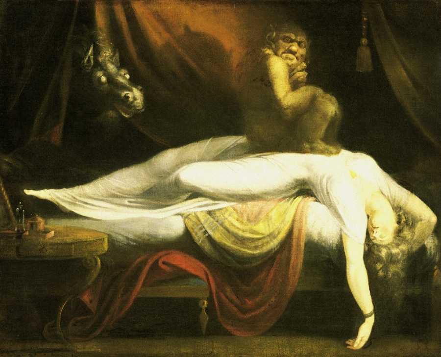 John Henry Fuseli, The Nightmare, 1781