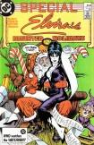 1987 Elvira's House of Mystery Special - Elvira's Haunted Holidays 1 Cover Art by  art by José Luis García-López
