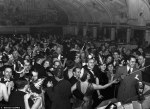 Bettman-Corbis Vintage NYE Photograph 'American bandleader and singer Cab Calloway leads an orchestra during a New Year's Ball at the Cotton Club in New York in 1937' via DailyMail