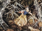Concept Art for Snow White and the Seven Dwarfs, 1937, by Gustaf Tenggren