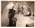 Creepy Santa Claus with Clowns