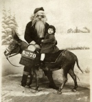 Creepy vintage Santa from Albert Tanquero's collection via Neatorama