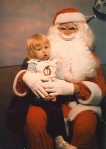 Frightening Santa Claus via Odd Stuff Magazine