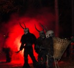 Krampus at 2013 Krampuslauf Tartsch in Italy photographed by Georg Weis via Atlas Obscura