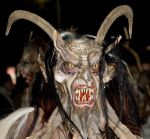 Krampus at perchtenlauf klagenfurt photographed by Anita Martinz December 2006