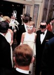 Mia Farrow and Frank Sinatra at Truman Capote's Black and White Ball, New York, 1966