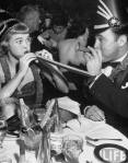 New Year's Eve 1952 Vintage Black and White