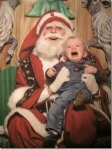 Scary Laughing Santa  via thechobble