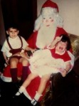 Scary Masked Santa via petitpetitgamin
