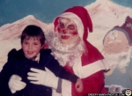 Scary Retro Santa via CreepySantaPhotos