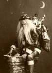 Scary Victorian Santa