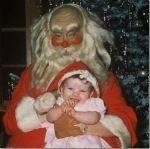 Scary Vintage Santa via thechobble