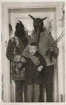 Vintage Krampus Photograph