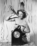 Vintage New Year's Pinup via BlissTree