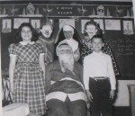 Vintage WTF Santa with Nun and Clown