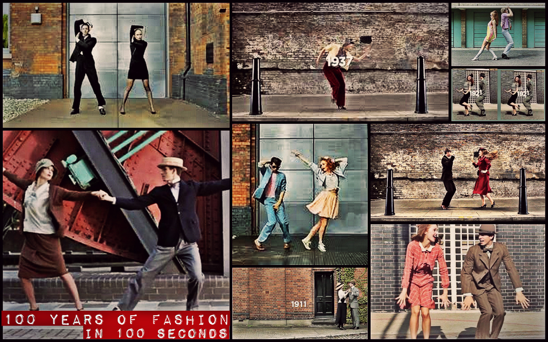100 Years of Fashion in 100 Years