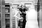 Anouk Wipprecht Techno Couture Spider Dress