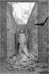 Gustave Dore The Raven Etched Illustration Angels