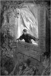 Gustave Dore The Raven Etched Illustration Shutter