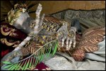 Holy Martyr Jeweled Skeleton photographed by Dr. Paul Koudounaris