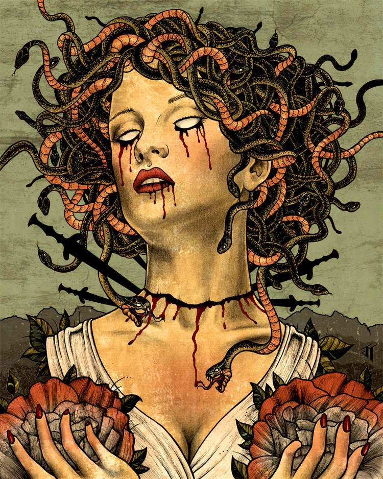 Medusa by Jared Tuttle