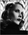 A pre-Vampira Maila Nurmi channels Lauren Bacall