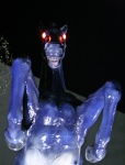 Blucifer, the Demon Horse of DIA via Reddit