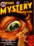 Cover Art by Gloria Stoll Karn for November 1943 Dime Mystery Magazine