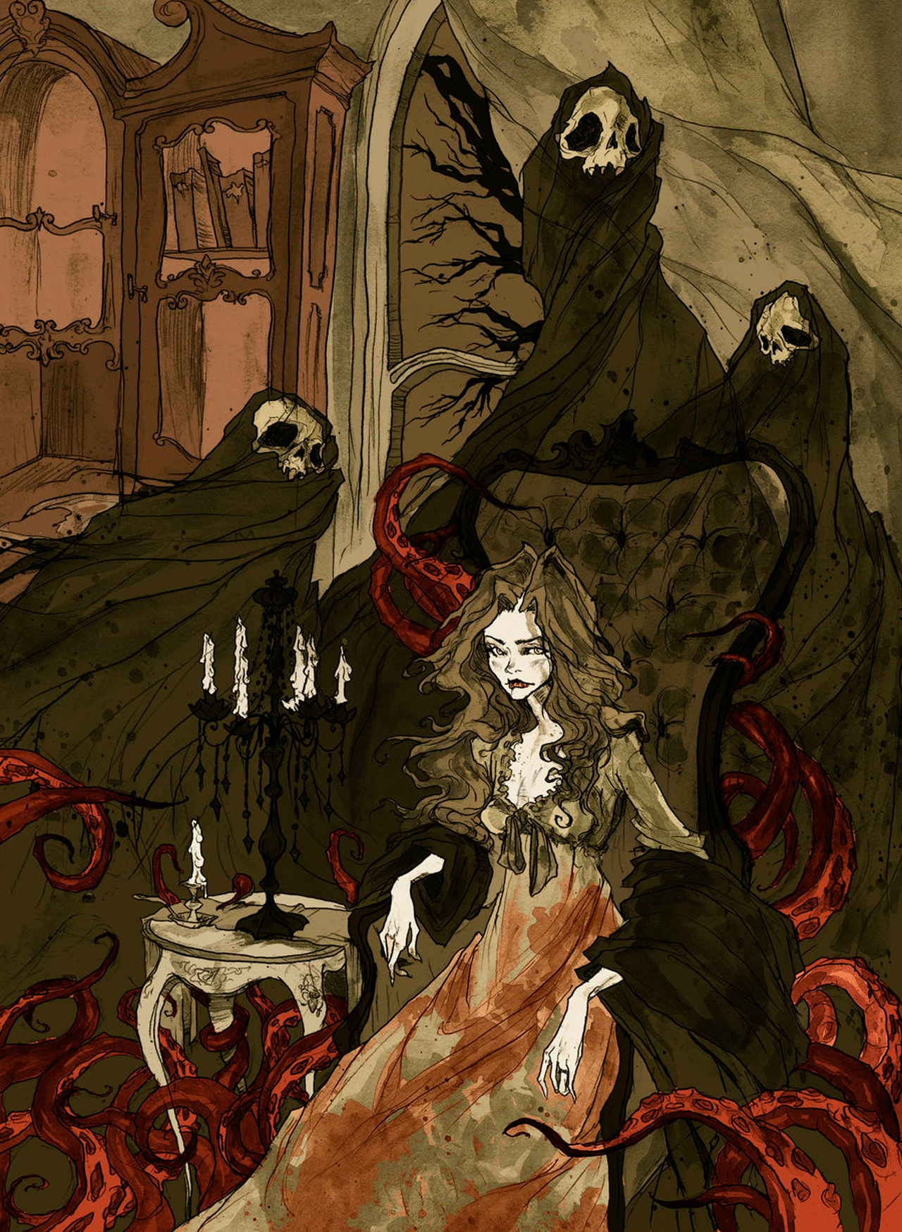 Nightmares of the Alchemist's Wife by Abigail Larson