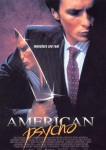 Poster for American Psycho directed by Mary Harron