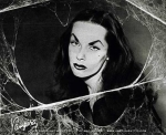 Vampira with Spiderwebs