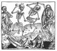 Danse Macabre by Michael Wolgemut 1493