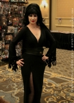 Elvira Cosplay at MMP 2014 TYOH SG