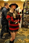 Gender Swap Freddy Krueger Cosplay at MMP 2014 TYOH SG